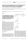 Synthesis and Antimicrobial Properties of New 4-Alkylidenearylidene-amino-5-2-furanyl-24-dihydro-3H-124-triazole-3-thiones and 6-Aryl-3-2-furanyl-7H-124-triazolo[34-b][134]thiadiazines.