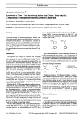 Lipoxygenase Inhibitors Part 6[1]. Synthesis of New Tetrahydropyrazine and Other Heterocyclic Compounds by Reaction of Hydrazonoyl Chlorides