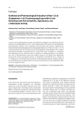 Synthesis and Pharmacological Evaluation of New 1-[3-4-Arylpiperazin-1-yl-2-hydroxypropyl]-pyrrolidin-2-one Derivatives with Anti-arrhythmic Hypotensive and ╨Ю┬▒-Adrenolytic Activity.