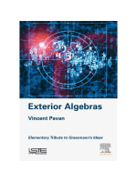 Vincent Pavan - Exterior Algebras  Elementary Tribute to Grassmann's Ideas (2017, ISTE Press)