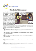 Zodiac (English Topic)