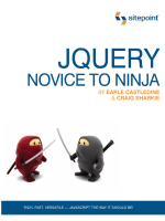 jQuery. Novice to ninja