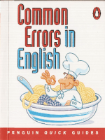 common errors in eng