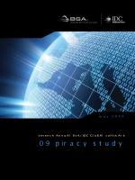 BSA Global Piracy Study 2009