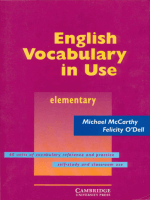 English Vocabulary in Use - Elem