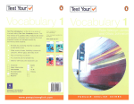 Penguin Vocabulary1 2005