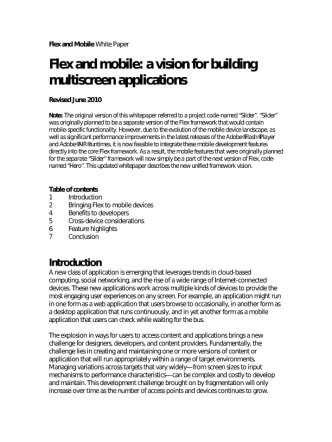 flexmobile whitepaper