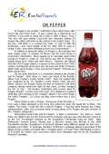 Dr Pepper (English Topic)