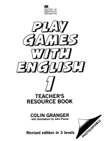 play games with english 1