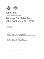 Nautical Chart Symbols. Abbreviations and Terms