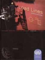 IMO Load Lines 3ed 2005 9280141945
