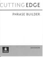 Cutting Edge Advanced Phrase Builder