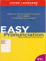 Living Language - Easy Pronunciation