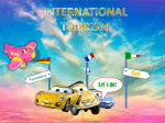 Trends and prospects in the international tourism industry in the