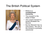 The British Political System - introenglishspeakingcountries