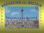 Education in Great Britain (презентация)