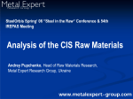 CIS raw materials_Pupchenko