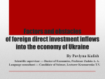 Factors and obstacles of foreign direct investment inflows into the