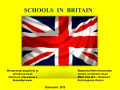 School and education britain