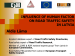 Презентация PowerPoint - Road traffic research