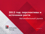 2012 год - Advanter Group