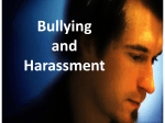 Bullying and Harassment for Employees (PPT 1MB)