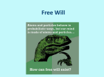Lecture 10: Free Will