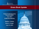 Green Book Update - Council of the Inspectors General on Integrity