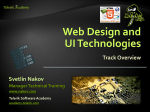 Web Design and UI Technologies