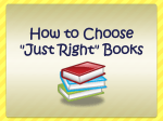 JUST RIGHT BOOK PP