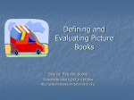 Defining and Evaluating Picture Books