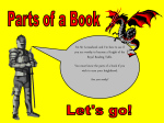 Parts of a Book Powerpoint - Lamar R