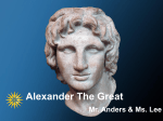 Alexander the Great PowerPoint Template