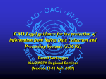 ICAO Legal guidance for the protection of information from Safety