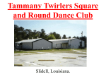 Tammany Twirlers Square and Round Dance Club