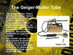 The Geiger-Muller Tube - Papers