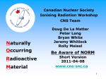 Ionising Radiation - media.cns