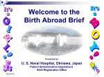 the Birth Abroad Brief