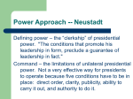 Power and Rational Choice approaches, powerpoint (9/25