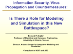 Information Security Virus Propagation and Countermeasures: Is