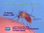 West Nile Virus - UC Berkeley Graduate School of Journalism