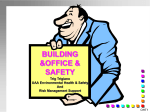 UAA Building and Office Safety
