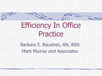 4.2 Efficiency in Office Practice