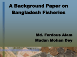Fish production trend over time in Bangladesh