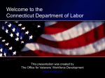Office For Veterans - Connecticut Department of Labor