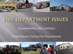 Fire Department Issues - Buffalo Trace Area Development District