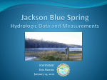 Blue Spring Water Quality Jackson County, FL