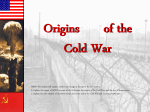 The Cold War - Effingham County Schools / Overview