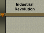Industrial Revolution - Center Unified School District