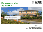 Key Lessons from Winterbourne View presentation